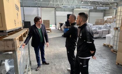 Palma Futsal visita las instalaciones