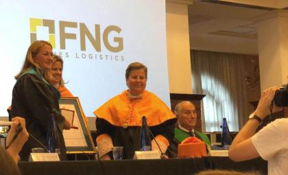 ESERP gold medal to FNG Fornes Logistics