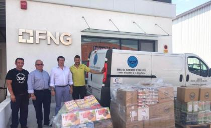 886kg Delivered to the Food Bank of Mallorca