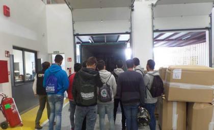Visita alumnos FP a las instalaciones